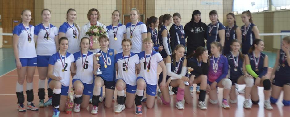 Отборочный этап Всероссийских соревнований по волейболу среди команд девушек 2002-2003 г.р.