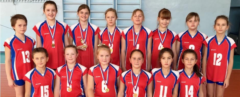 1 место на межрегиональном турнире по волейболу!
