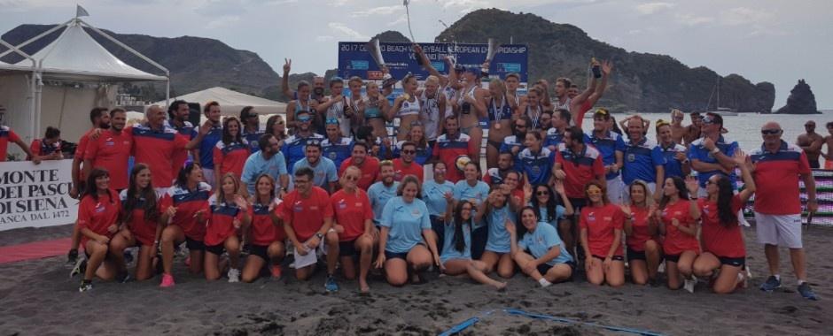Молодежный чемпионат Европы до 20 лет по пляжному волейболу. Поздравляем с золотом!